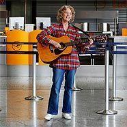Zur Not kann man auch Flughafen musizieren.