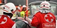 Busunfall auf A1: 20 Verletzte