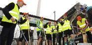 Rapidler putzen ihr Hanappi-Stadion