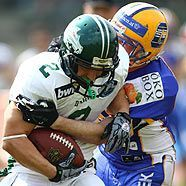 Graz Giants entzaubern Danube Dragons