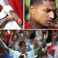 Tattoos der WM-Kicker