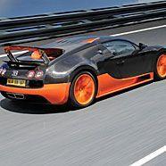 Der Bugatti Veyron mit 1.200 PS