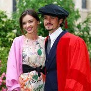 Frauenschwarm Orlando Bloom ist mit dem Model Miranda Kerr verheiratet