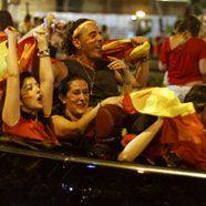 Spanien feiert WM-Sieg gebührend