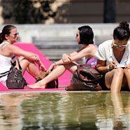 Hitzewelle hält Österreich auf Trab