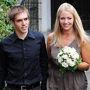 Philipp Lahm heiratet Freundin Claudia Schattenberg