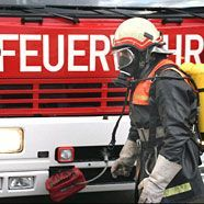 71-jähriger Gehbehinderter aus brennendem Haus gerettet