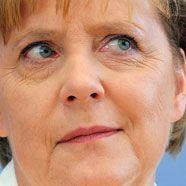 Merkel: Unkrautzupfen hilft beim Denken