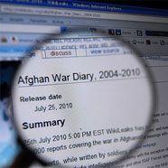 Wirbel um Enthüllung von Geheimdokumenten zu Afghanistankrieg