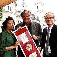 """Salzburger Festspiele – Goldene DVD für Ex-""""Jedermann"""" Peter Simonischek"""
