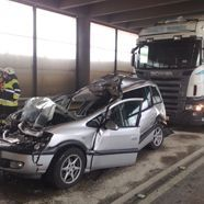Pfändertunnel: Schwerer Unfall