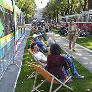 Autofreier Tag: Rasen und Picknick am Burgring