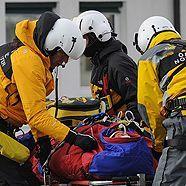 Ski alpin: Hans Grugger im Kitzbühel-Training schwer gestürzt