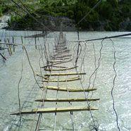 Die gefährlichsten Brücken der Welt
