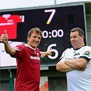 Andi Herzog besiegte mit seiner Mannschaft jene von Elton.