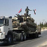 Syrische Armee belagert neue Stadt im Nordwesten