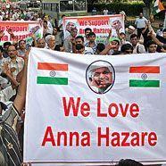 Indische Polizei erlaubt Hungerstreik gegen Korruption