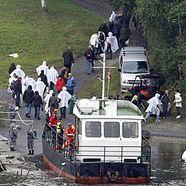 Norwegen-Anschläge: Familien der Opfer auf Utöya