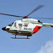 Polizei-Hubschrauber beendet Schäferstündchen