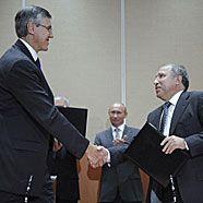 Rosneft und ExxonMobil suchen in der Arktis nach Öl