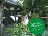 Herbstliche Wildromantik in der Alten Kaisermühle an der Alten Donau - wo Ende September steirische Spezialitäten serviert werden.