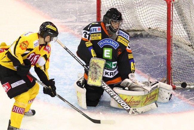 Die Vienna Capitals mussten sich den Graz 99ers geschlagen geben.