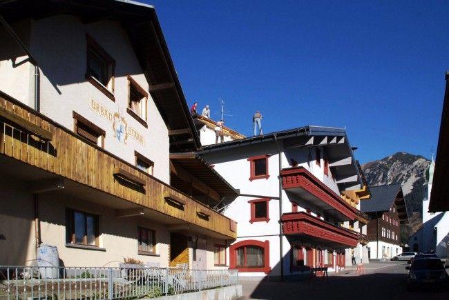 Mitten im Ortszentrum von Fontanella entsteht ein 4-Sterne-Hotel mit 80 Betten.
