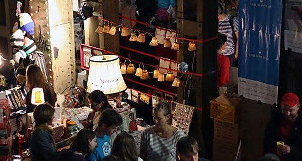 Der Fesch'markt als Umschlagplatz der kreativen Szene der Stadt.