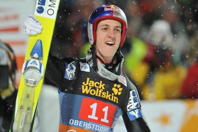 Tiroler siegte klar vor Kofler und Morgenstern.
