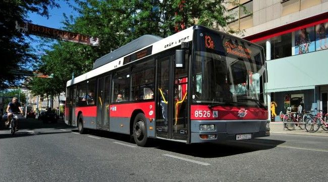 Die Autobuslinie 13 A soll nicht durch eine neue Straßenbahn ersetzt werden.