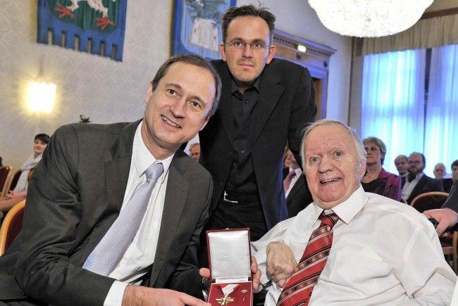 Wiener Auszeichnung für Teddy Ehrenreich und Franz Horacek