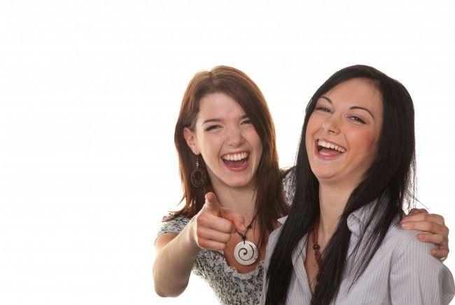 Lachen macht auch schlechte Tage gleich viel besser!