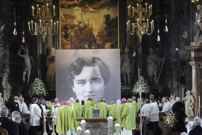 Hildegard Burjan wurde am Sonntag im Wiener Stephansdom seliggesprochen.