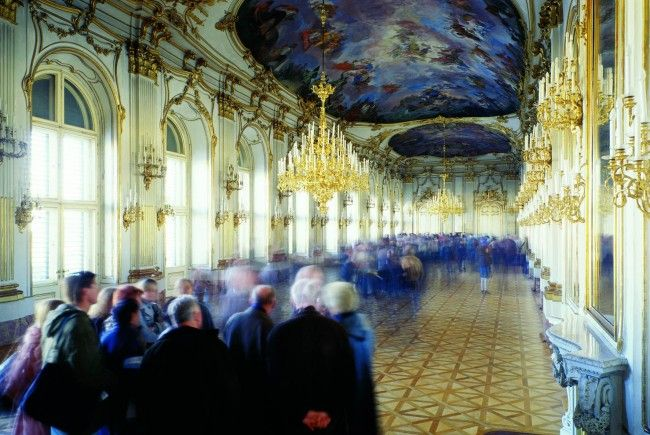 2011 war das bislang besucherstärkste Jahr für Schloß Schönbrunn
