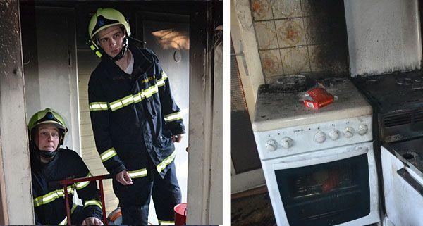 Die Feuerwehr war in Neunkirchen wegen einem brennenden Ölofen im Einsatz
