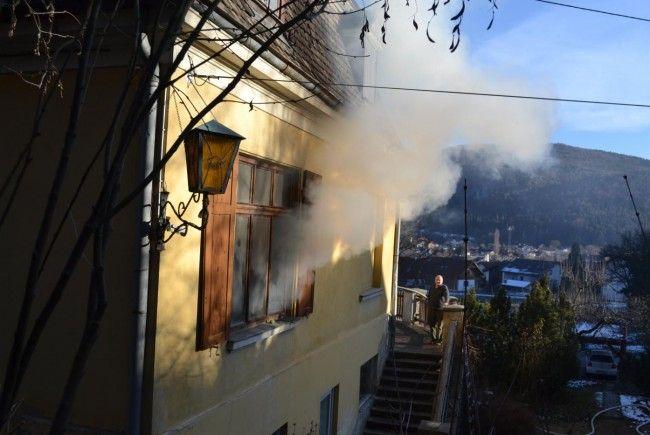 Einen Verletzten forderte der Brand in Scheiblingkirchen