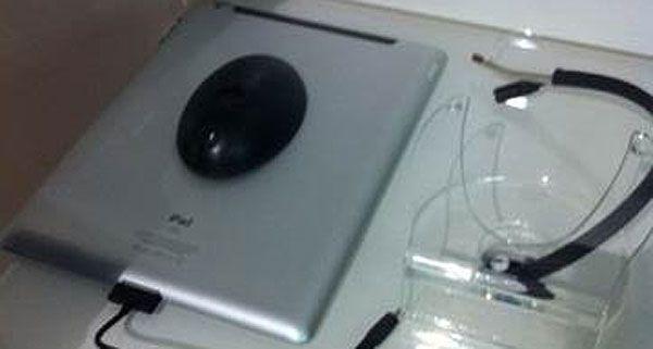 Der Mann hatte versucht, im Orange-Shop am Praterstern diesen Tablet-PC zu stehlen