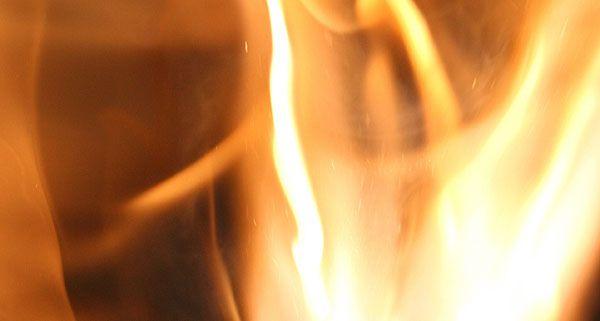 In einem Keller in der Salesianergasse brach ein Feuer aus