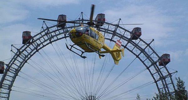 Der ÖAMTC-Hubschrauber Christophorus 9 war 2011 praktisch im Dauereinsatz