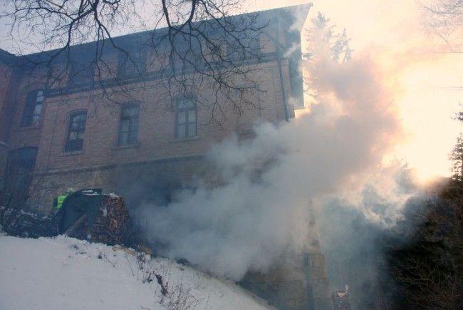 Dieses Wohnhaus am Semmering musste gelöscht werden