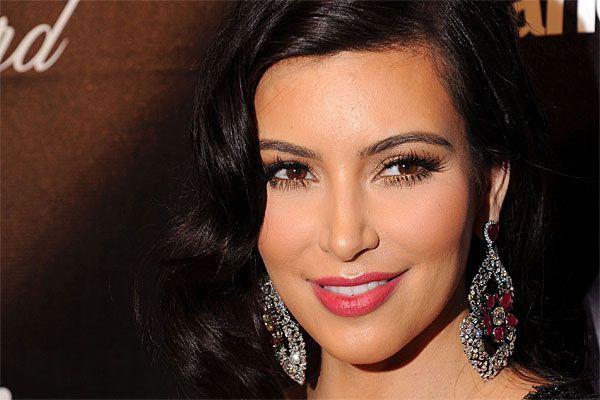 Kim Kardashian bei der Golden Globes After Party.