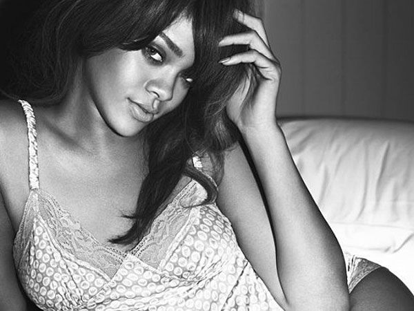 Rihanna for Emporio Armani Underwear Spring 2012