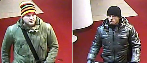 Wer hat diese beiden Einbrecher gesehen?