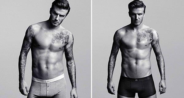 David Beckham in der Kampagne für H&M.