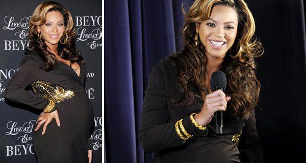 Freute sich schon sehr auf den Nachwuchs: Beyoncé Knowles