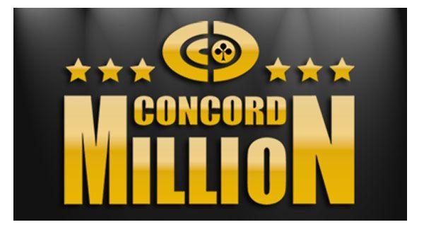 1.000.000 Euro bei der Concord Million gewinnen
