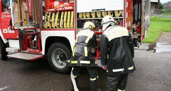 In Wien-Leopoldstadt stand eine Zahnarztpraxis in Flammen.