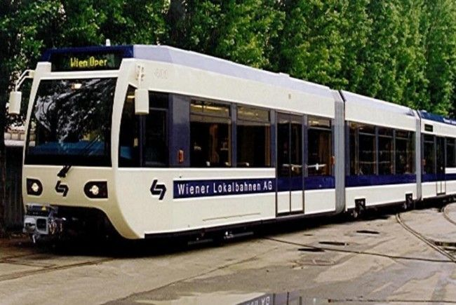 Eine Lokalbahn kollidierte mit einer Straßenbahn
