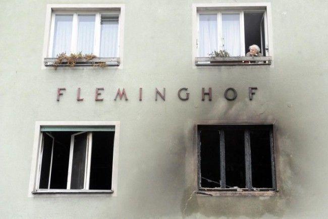 Mit der Zigarette eingeschlafen: Hinter diesem Fenster starb eine Frau.