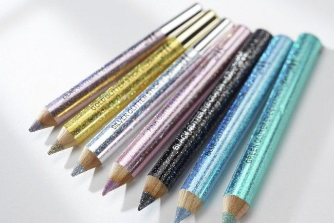Barry M Glitter Eye Crayon in verschiedenen Farben! Unsere Augen können sooo schön glitzern!